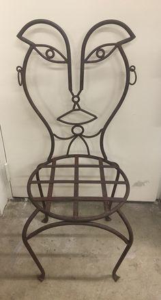 Crazy Surrealist Chair . Woman Chair (mr007) $175