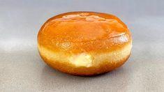 Donuts al Caramelo rellenos de Crema de Vainilla /Caramel Donuts filled with Vanilla cream - YouTube Donut Filling, Serbian Recipes, Almond Cakes, Vanilla Cream, Doughnuts, Biscotti, Sweets, Snacks, Cookies