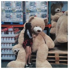 Read 59 from the story E se você fosse namorada do Tom Holland? Huge Teddy Bears, Large Teddy Bear, Giant Teddy Bear, Costco Bear, Bear Tumblr, Teady Bear, Couple With Baby, Teddy Girl, Teddy Bear Pictures
