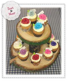 Cupcakes Boomstam etagiere