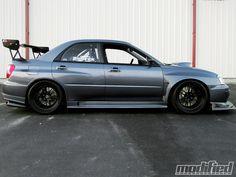 subaru wrx sti | 2005 Subaru Impreza Wrx Sti Side View