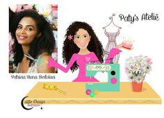 Ilustrações Catita Design: Mascotinha repaginada de Patricia Viana Bertoluci