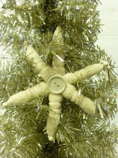 STUFFED STARFISH ORNAMENTS / fabric starfish by SophiesCottage, $24.95