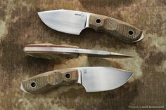 Boker Plus BOB fixed knife, Germany. Designed by Jesper Voxnaes VOX. Photography by Jarek Konarzewski