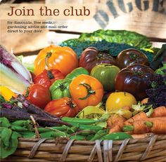 we buy all our vegies from here - great range on heirloom