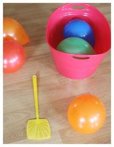 Balloon Tennis Game | Rainy Day Activities