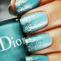 Tiffany blue love the blue sparkle.