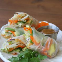 Vegie Spring Rolls(4) - Bamboo Leaf Vietnamese Cuisine - Zmenu, The Most Comprehensive Menu With Photos