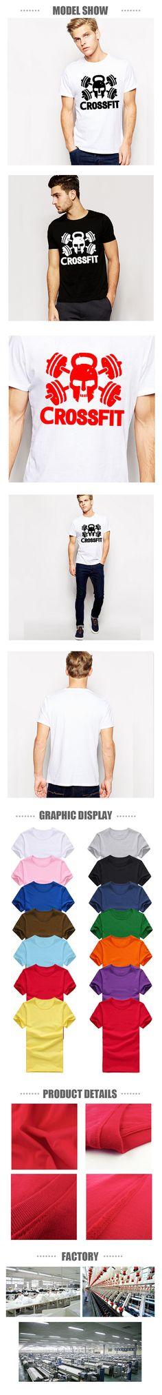 Crossfit magliette uomini palestra training uomo t shirt fitness sport cotone o collo top a manica corta casuale mens maglietta trasporto libero in Benvenuto al nostro deposito Altro descrizione: Miriamo a garantire che tutti i nda T-shirt su AliExpress.com | Gruppo Alibaba