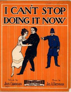 Sheet Music - I can't stop doing it now