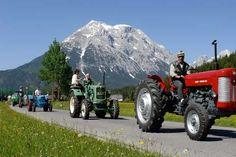 Tractor festival! Exploring the Tyrol from the Inntaler Hof
