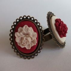 This is such a beautiful fimo ring!