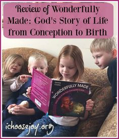 The best children's book explaining conception to birth is by Danika Cooley and called Wonderfully Made: God's Story of Life from Conception to Birth.