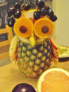 fruit owl by rp_poly_cuh, via Flickr
