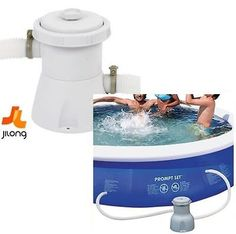 Jilong #super clean filter pump above ground #garden pool swimming paddle #300gal,  View more on the LINK: http://www.zeppy.io/product/gb/2/141952194931/