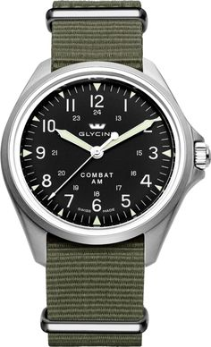 Glycine combat sub automatic watch gl 224 20atm black for Combat portent 30 22