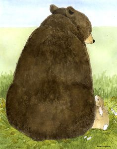 Big Bear, Little Bunny by Diana Ting Delosh