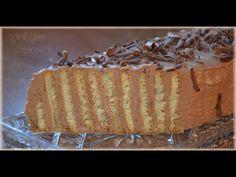 (14) Nepečené skládané řezy - VAŘÍME DOMA #Andrea - YouTube Vanilla Cake, Nutella, Deserts, Pie, Food, Youtube, Torte, Cake, Fruit Cakes