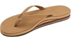 Rainbow Sandals Womens Color Leather Narrow Strap Double Arch - Available in All Colors and Sizes