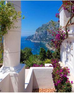 Ilha de Capri, Nápoles, Campânia, Itália