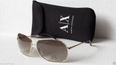 39e2ce28b4a Armani Exchange men aviator style sunglasses AX200 with bag  Fashion  Style   Deal Sunglasses
