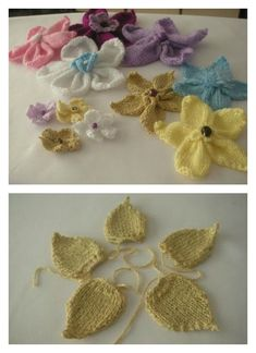 For knitting lovers, we have compiled a few Free Flower Knitting Patterns for you. They are beautiful and spring perfect knitted flowers. Knitted Flowers Free, Knitted Flower Pattern, Crochet Flowers, Flower Patterns, Knitting Stiches, Knitting Patterns Free, Free Knitting, Free Pattern, Crochet Patterns