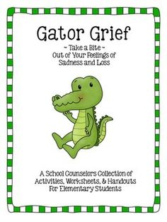 Helping children deal with grief in school -- a great resource for school counselors.