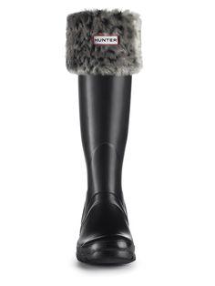 Leopard Welly Socks | Rain Boot Socks | Hunter Boot Ltd