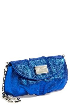 ee874215774ed MARC BY MARC JACOBS  Classic Q - Metallic Karlie  Crossbody Flap Bag  available at