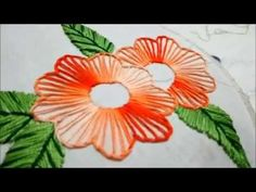 Hand Stitches | Embroidery Design by Hand | HandiWorks #75 - YouTube