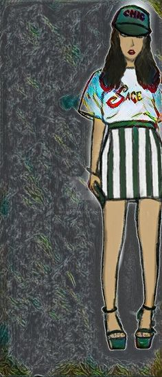 """Juno In Sage All Green by missa23.deviantart.com on @DeviantArt.Offers: Save 15% Off My Prints Use code:HAPPYANNDA When using a device press the """"switch to desktop site"""" at the bottom of the screen to be able to buy from my printstore.#comic #cartoon  #design #artforsale #art #illurstration  #shopnow #sale #artforsale"""