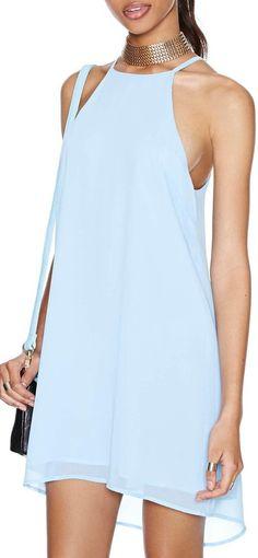 Just Blue It Dress