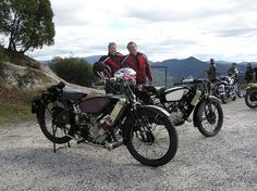 A couple of Scotts on the Tour of Tassie.