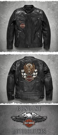 771714cd26558 14 Best Harley Davidson Leather Jackets images