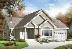 Plan de maison no. W3235-V1 de dessinsdrummond.com