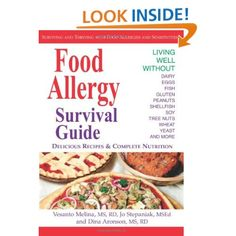 """Great vegan resource for people with food allergies- """"Food Allergy Survival Guide: Surviving and Thriving with Food Allergies and Sensitivities"""""""