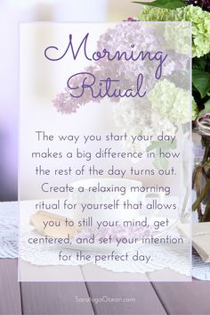 Have you ever noticed that if you start your day frantic and scattered, then the rest of the day does not go very well? You can change this by setting aside 15 minutes to quiet your mind and set an intention for the type of day you want to have. This will help to aim your thoughts in a positive, harmonious direction. <3 Morning Devotion, Good Morning Prayer, Morning Prayers, Good Morning Wishes, Good Morning Quotes, Prayer Quotes, Affirmation Quotes, Wisdom Quotes, Spiritual Quotes