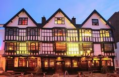 The Llandoger Trow in Bristol is said to have been where Daniel Defoe met Alexander Selkirk, whose adventures inspired his novel Robinson Crusoe. The Admirable Benbow pub in Treasure Island may also have been based on it. - Peculiar British pubs - Telegraph