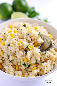 Cilantro lime brown rice is a simple, easy and delicious side dish that you are going to love.