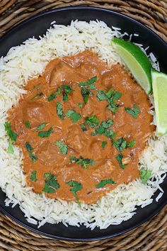 Chicken Tiki Masala- This recipe is done in a slow cooker, but I didn't have time so I did it on the stove. It turned out really well!