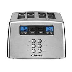 Cuisinart Touch to Toast Leverless 4-Slice Toaster | Bloomingdale's