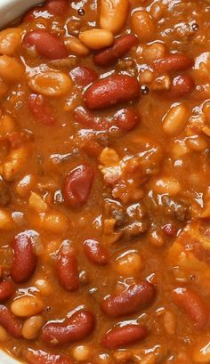 The BEST Slow Cooker Baked Beans I had a similar recipe I lost. Biggest difference is the other added a few drops of liquid smoke for a very barbecue flavor.