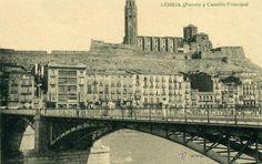 LÉRIDA - PUENTE Y CASTILLO PRINCIPAL - Foto 1