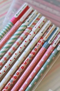 Planner Ideas & Accesories ❤ The Ultimate Wonderland Pen Set - 10 Pens
