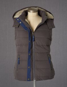 Snuggly Gilet  by Boden