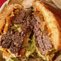 the double meat #cheeseburger from #garaje