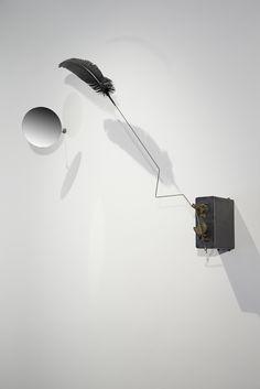 Rebecca Horn, Le baiser du corbeau (2003) | Artsy