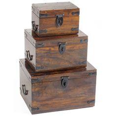 3 Piece Thakat Box Set