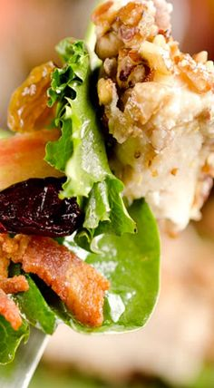 Apple Pecan Chicken Salad Wraps Food Drink Pecan Chicken