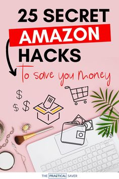 Did you know there are so many Amazon hacks to save you money fast and even make you cash? | The Practical Saver | Learn 25 secret tips and tricks no one wants you to know and how to find the best deals fr a better shopping experience. Learn how to save money shopping on Amazon with these best Amazon shopping hacks. You'll kick yourself for not knowing sooner! #shoppinghacks #onlineshopping #savemoney #frugal Save Money On Groceries, Save Your Money, Ways To Save Money, Money Tips, How To Make Money, Money Saving Mom, Money Saving Challenge, Budgeting Finances, Budgeting Tips